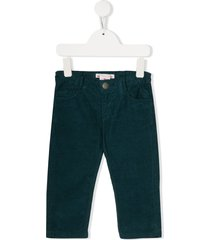 bonpoint cookie corduroy trousers - blue