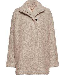 helle jacket 6182 outerwear jackets wool jackets grijs samsøe & samsøe