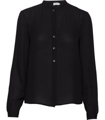 adele blouse blouse lange mouwen zwart filippa k