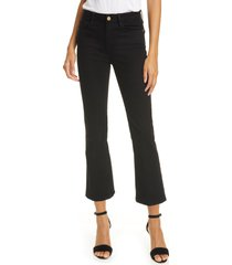 women's frame le crop mini bootcut jeans
