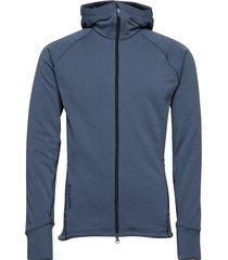 m's power houdi hoodie trui blauw houdini