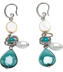 antica murrina designer earrings, grimani t top earrings
