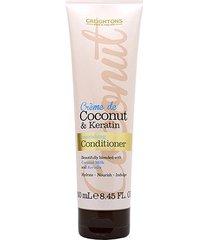 condicionador creightons creme de coconut keratin nourishing 250ml
