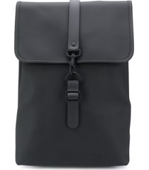 rains rucksack waterproof backpack - black