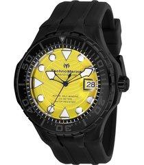 reloj technomarine tm-118084 negro silicona
