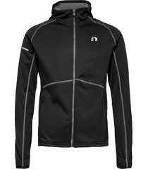 base warm up jacket hoodie svart newline