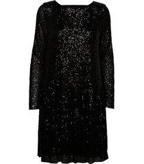srgeorgina dress knälång klänning svart soft rebels