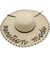 marcus adler vacation mode whipstitch floppy hat