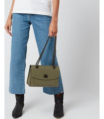 coach women's parker shoulder bag - light fern