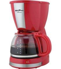 cafeteira britânia cp30 inox 30 cafezinhos vermelha 127v