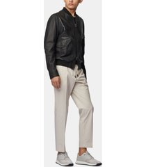 boss men's banks-spw slim-fit drawstring trousers