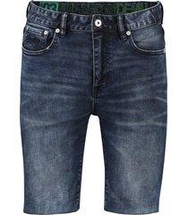 bermuda superdry 5-pocket donkerblauw