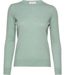 basic sweater gebreide trui groen davida cashmere