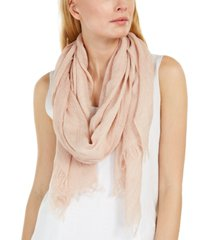 elieen fisher woven cotton scarf