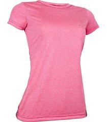 camiseta dry living mc feminina - conquista