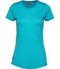 wmns sphere ss low crewe t-shirts & tops short-sleeved blå icebreaker