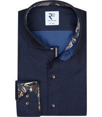 donkerblauw shirt r2 amsterdam