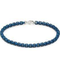 effy men's sterling silver box chain bracelet