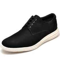sapatenis masculino casual esportivo go well shoes preto - preto - masculino - dafiti