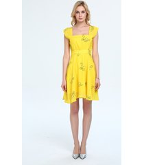 la la land mia costumes dress emma stone yellow dress costumes emma dress