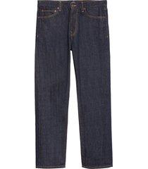 men's noah men's straight leg jeans, size 28 - blue