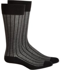 alfani men's striped socks, created for macy's