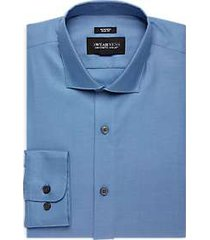 awearness kenneth cole sky blue slim fit dress shirt