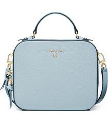 michael kors jet set charm light blue crossbody bag