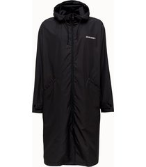 golden goose deluxe brand parka landon in nylon nero
