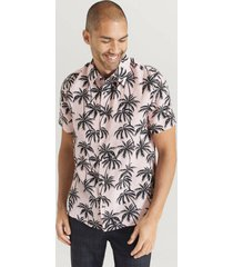 skjorta printed short sleeve shirt