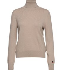 alice rollerneck sweater turtleneck coltrui beige busnel