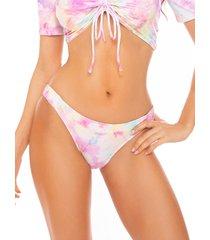 mc2 saint barth pink tie dye swim briefs