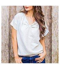 cotton blouse, 'cool thai colorblock' (thailand)