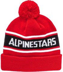 gorro generation beanie rojo alpinestars