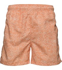 full bloom outline swim shorts c.f. badshorts orange gant