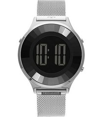 relógio technos digita crystal feminino
