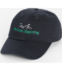 maurices womens not lost exploring black baseball hat