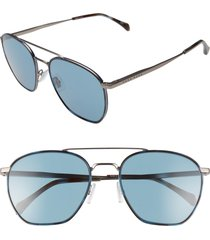 men's boss 1090/s 57mm navigator sunglasses - matte ruthen