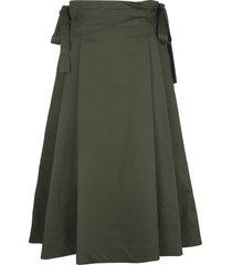 green tegola skirt