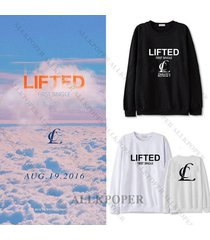 kpop 2ne1 sweater cl first single [ lifted ] hoodie unisex sweatershirt pullover