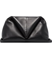 bottega veneta clutch envelope - marrom