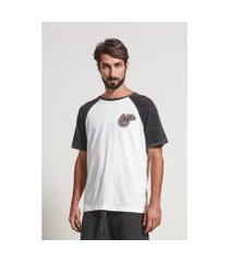 camiseta armadillo t-shirt raglan oxygen masculina