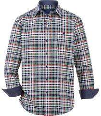overhemd babista groen::wit