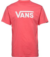 vans classic t-shirts short-sleeved röd vans