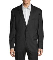 tailored-fit virgin wool sport jacket