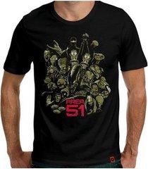 camiseta area-51