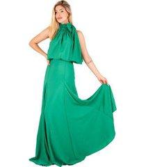 vestido longo dandara estilo k feminino