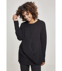 sweater urban classics sweatshirt femme urban classic wrapped