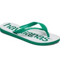 top logomania 2 shoes summer shoes flip flops grön havaianas