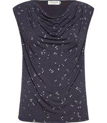 t-shirt ss t-shirts & tops short-sleeved blå rosemunde